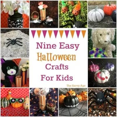 Nine Easy Halloween Crafts For Kids