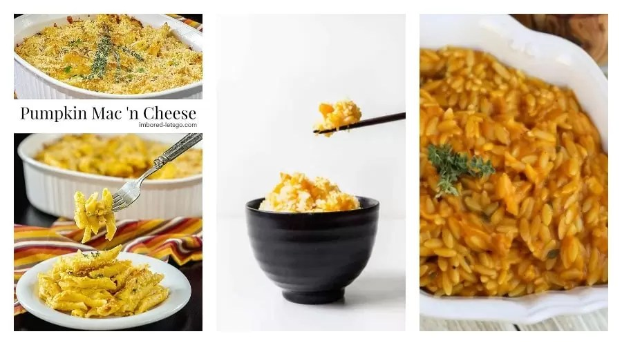 3 pumpkin side dishes
