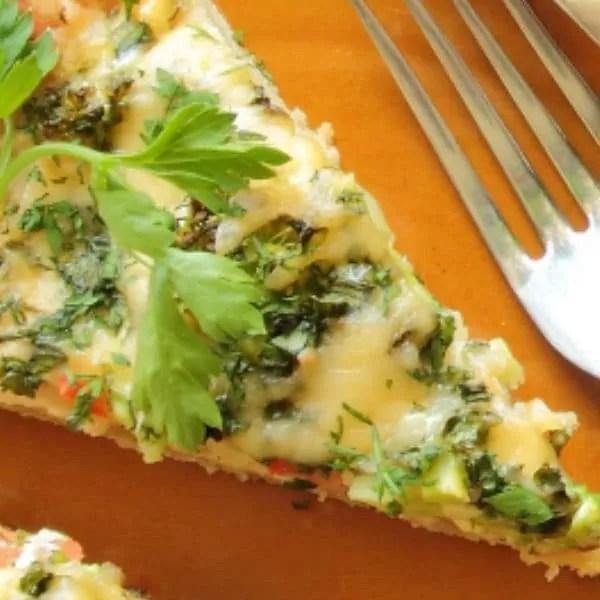Easy Ham And Broccoli Crustless Quiche