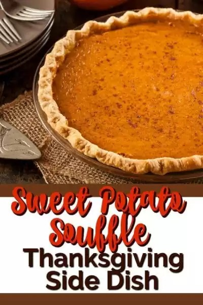 Sweet potato souffle with crust