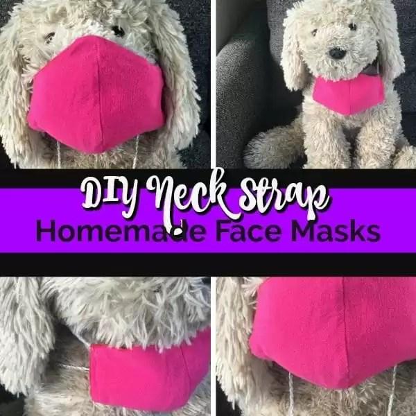 DIY Neck Strap For Homemade Face Masks