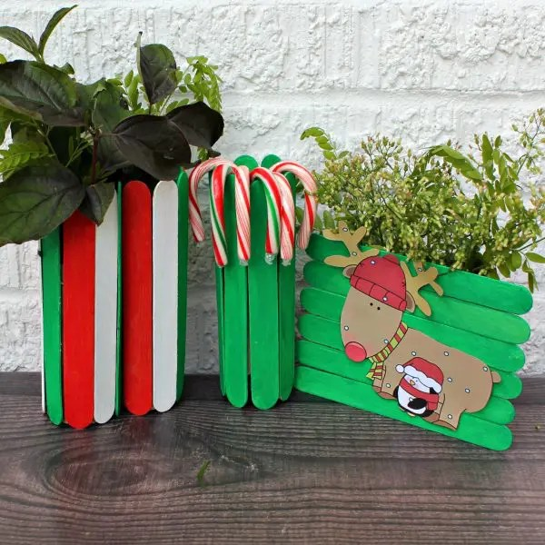 Upcycled Toilet Roll Christmas Vase