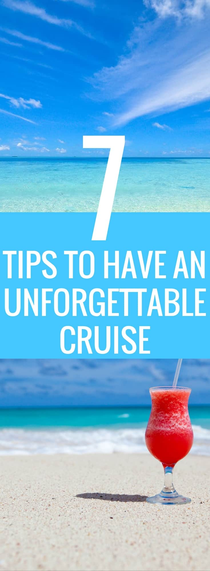 Tips, Tricks & Hacks to prepare you for your Cruise Vacation. Don't forget these essentials and you will be sure to have an incredible time! Cruise Ideas | Travel Hacks | Vacation Hacks | Cruise Must Haves
