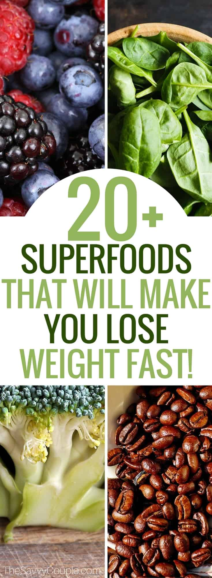These superfoods are almost guaranteed to make you lose weight fast. I lost 40lbs implementing more of these zero calorie foods into my diet! Weight loss   Fitness program   healthy eats   lose weight fast   superfood list   health and fitness