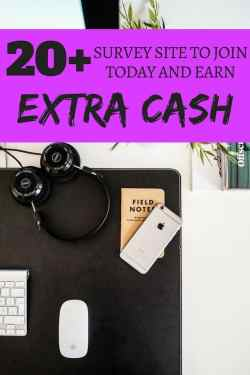 Here are 20 plus best survey sites that I have personally used and made money from. I easily made extra money in while watching TV taking online surveys. These survey sites will put cash in your pocket!