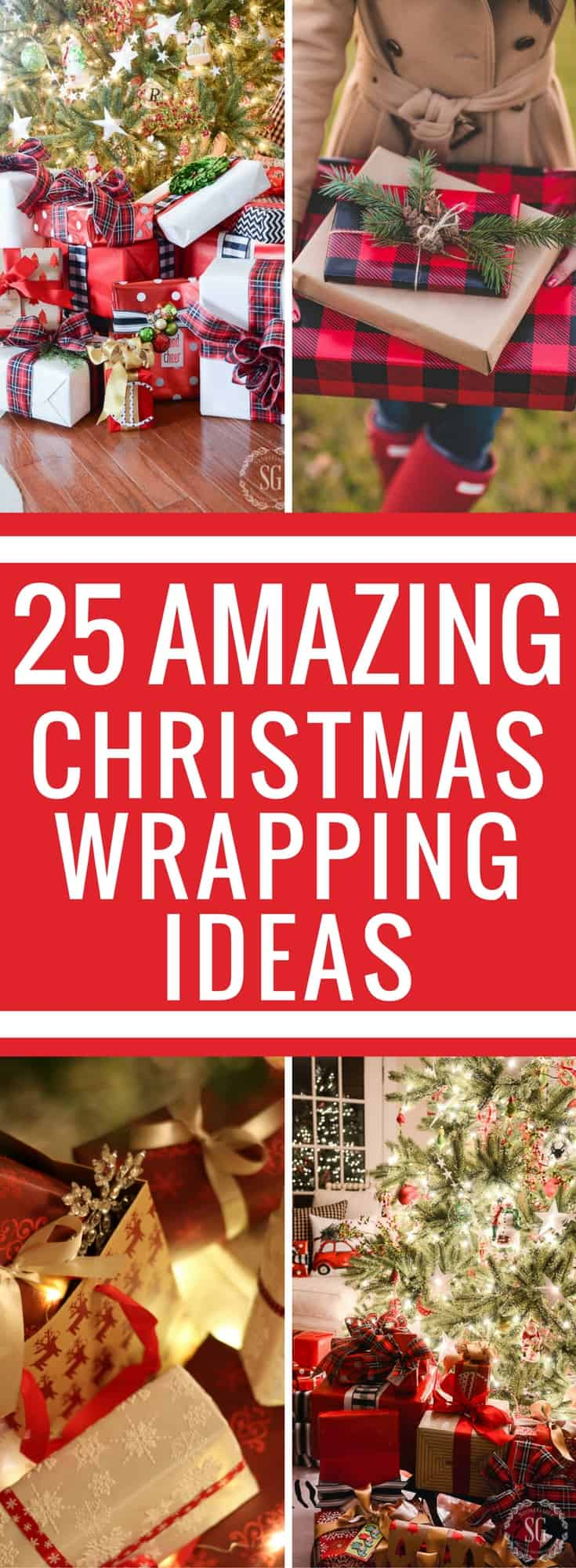 Unique gift wrapping ideas to bring your wrapping skills to the next level. Personalize your gift wrapping with these 25 gift wrapping ideas. Rather it is wrapping Christmas gifts or birthday gifts this list will give you plenty of ideas. Wrapping Ideas Christmas   Gift Wrapping   Gift Wrapping Ideas for Christmas   Gift Wrapping Ideas for Birthdays   Gift Wrapping Ideas   Gift Wrapping Ideas Creative   Christmas Gifts   DIY  
