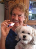 Milo Afrezza with Bon Bon