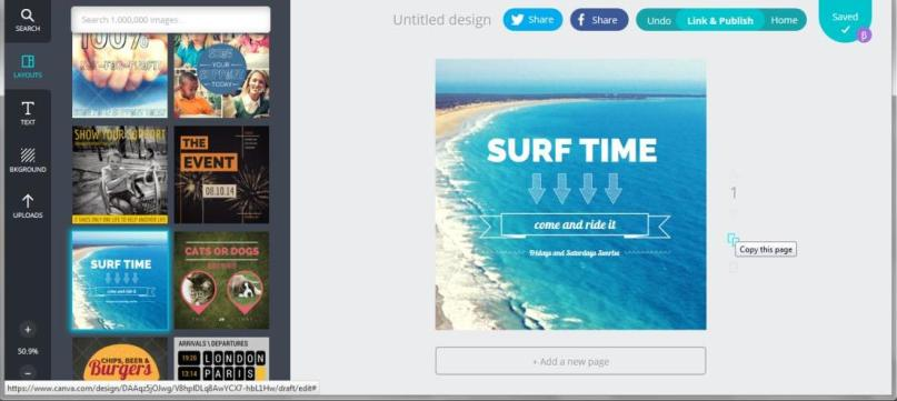 Canva Editor Screenshot