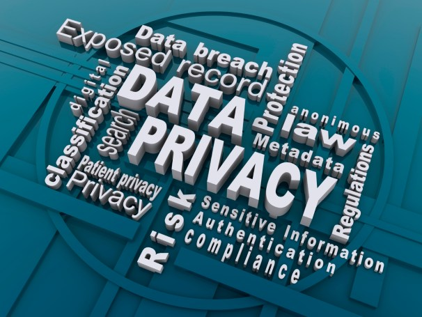 Digital Data Privacy word scramble