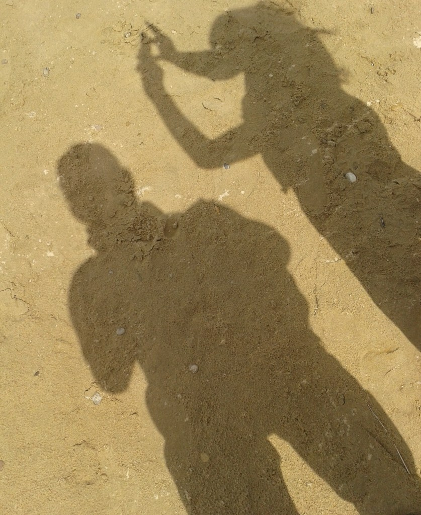 Sand people shadows