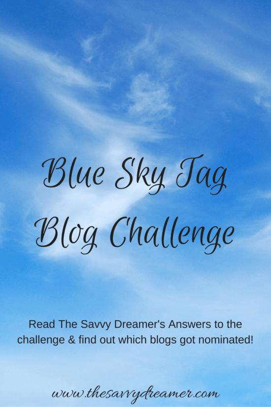 Blue Sky Tag Blog Challenge