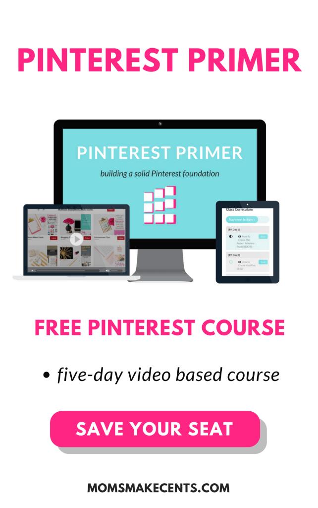 Free Pinterest Primer Course