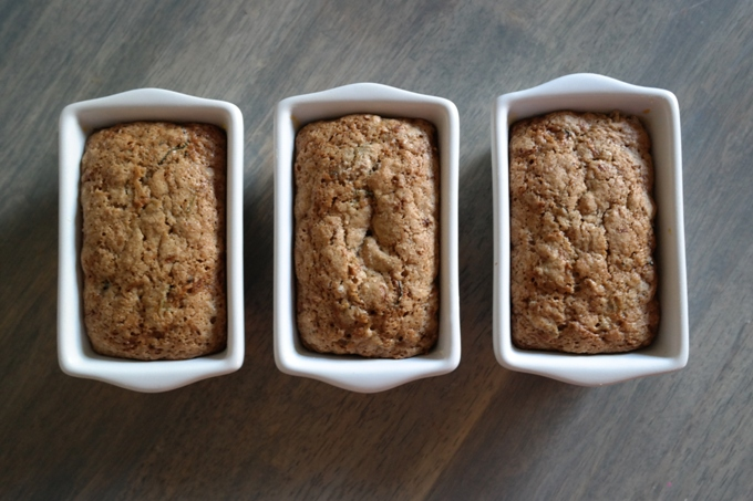 Tasty & Simple Old-fashioned zucchini bread in just 1 hr.