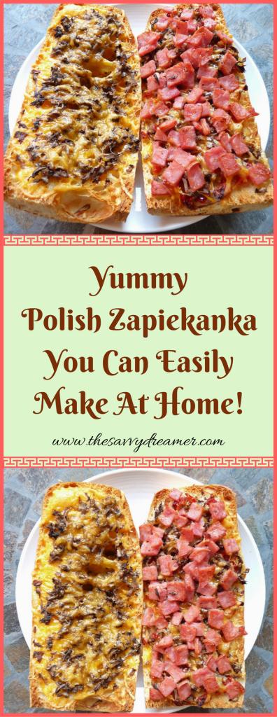 Yummy Polish Zapiekanka You Can Easily Make At Home