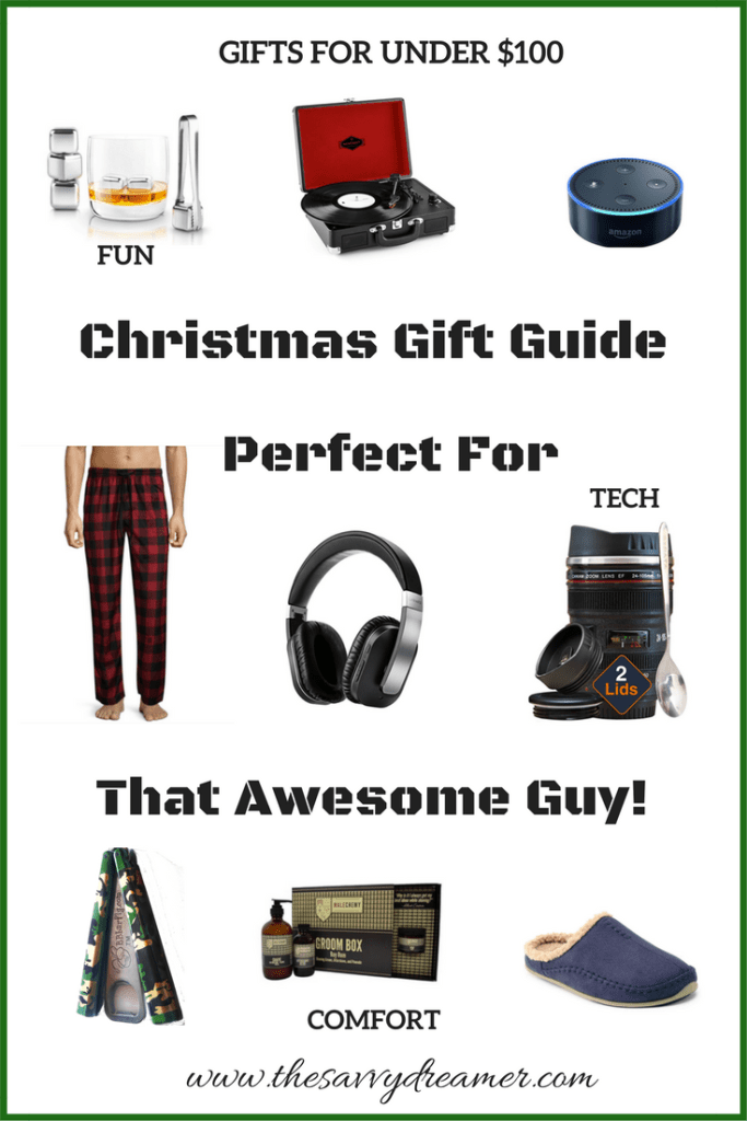 Christmas Gift Guide Perfect For Any Guy!