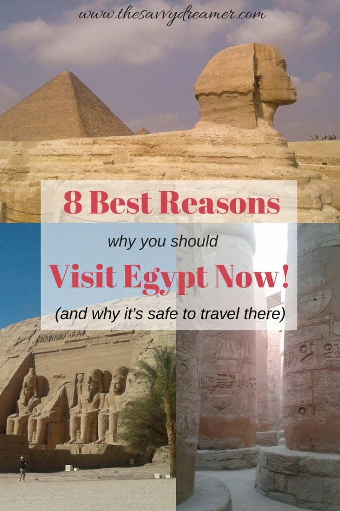 Did You Know It's Safe To Visit Egypt NOW? #Egypt #travel #vacation #africa