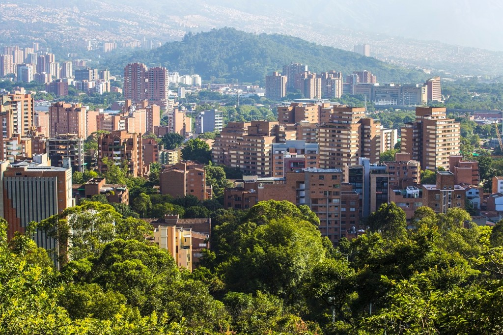 Medellin is one of the unique places to see in Colombia #Colombia #SouthAmerica #Medellin #travel