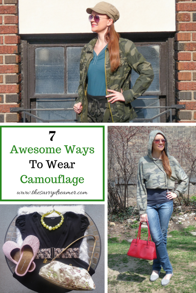 Ways to wear camouflage that are fun and easy! #camouflage #fashion #styles #clothing