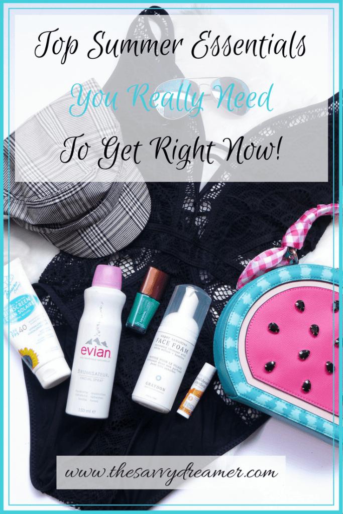 These top summer essentials you gotta get now!