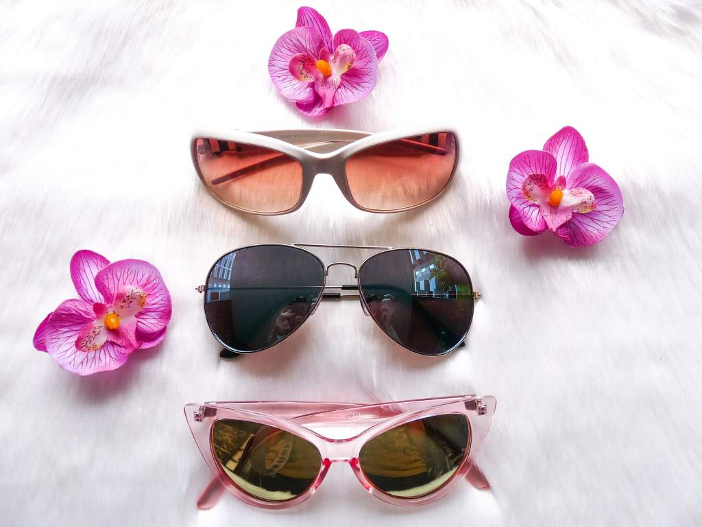Sunnies are top summer essentials