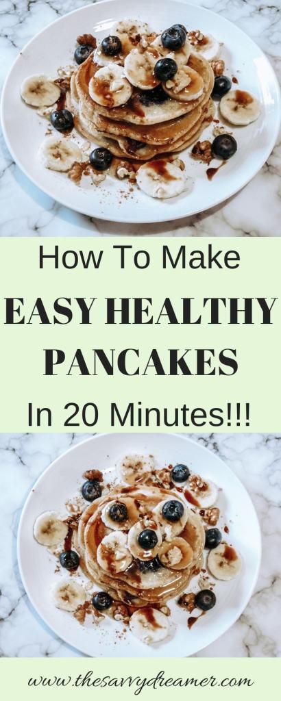 Easy Healthy Pancakes Recipe