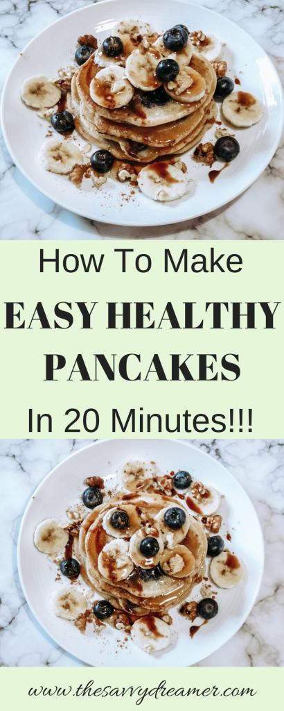 Easy Healthy Pancakes Recipe