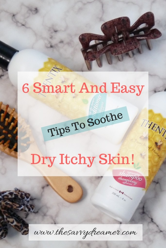 Read blog to get tips to soothe dry itchy skin #dry #itchy #skin