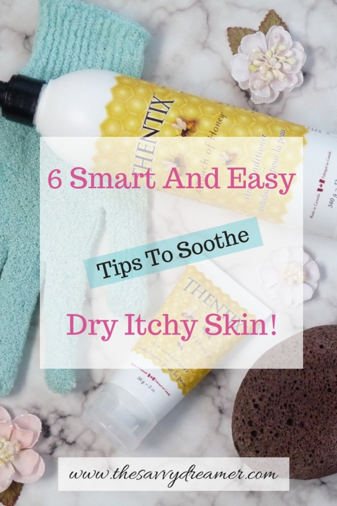 Read blog to get tips to soothe dry itchy skin