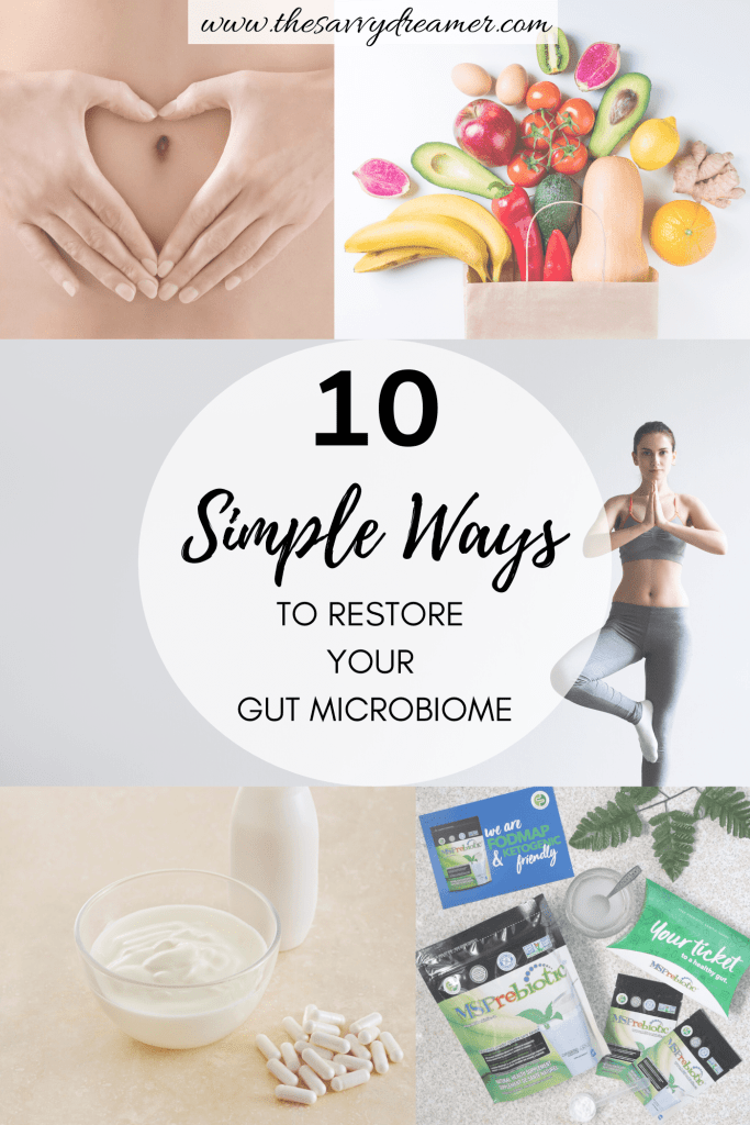 These tips will help you restore your gut flora easily