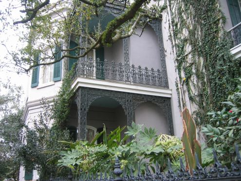 author Anne Rice's former home Garden District, New Orleans