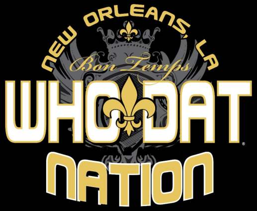 """Who Dat"" Logo"