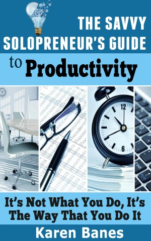 The Savvy Solopreneur's Guide to Productivity: Kindle Book