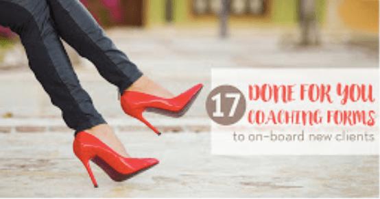Free Coaching Forms