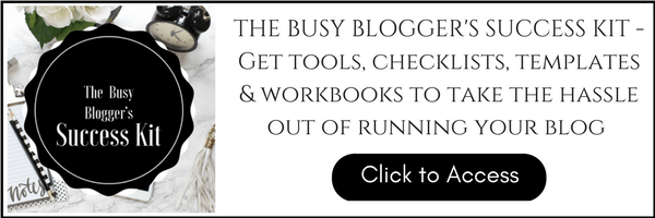 Busy Blogger's Success Kit