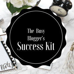 The Busy Blogger's Success Kit
