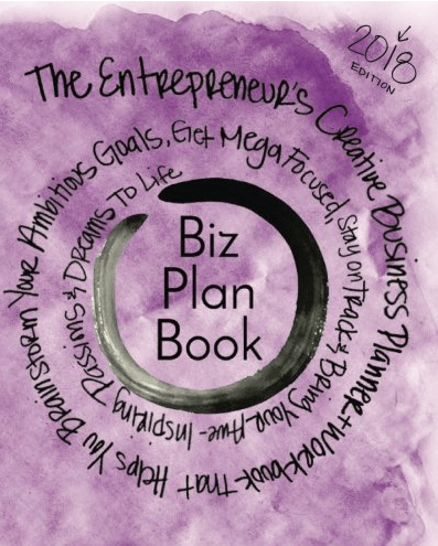 The Biz Plan Book - Best Blogging Planner for 2018