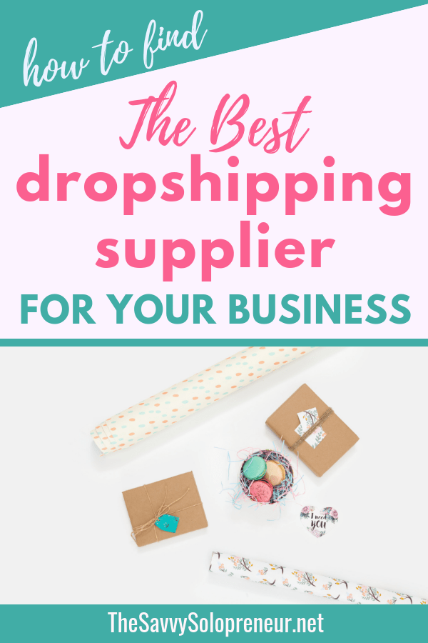 Find the Best Dropshipping Supplier