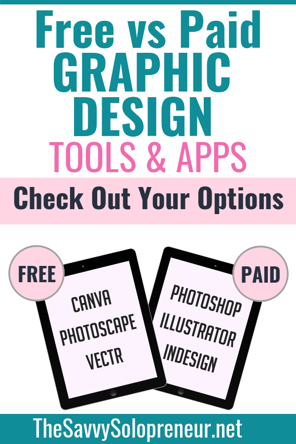 Free Vs. Paid Graphic Design Tools