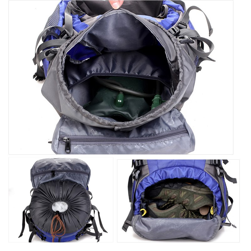 Waterproof Outdoor Camping Backpack 50 L