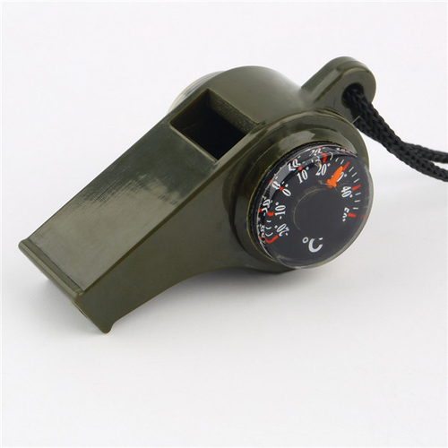 1PC New black Whistle Compass 3 in1 Survival Camping Thermometer new brand 1.jpg 640x640 1