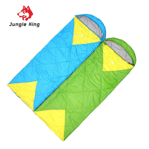 Jungle King Windproof Warm Sleeping Bag Camping Hiking Waterproof Nylon Outdoor Drawstring Hood Comfortable Sleeping Bag 2.jpg 640x640 2