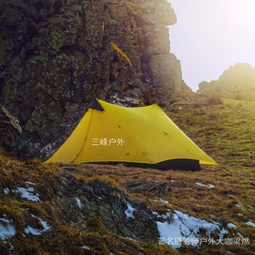 LanShan 2 3F UL GEAR 2 Person 1 Person Outdoor Ultralight Camping Tent 3 Season 4 1