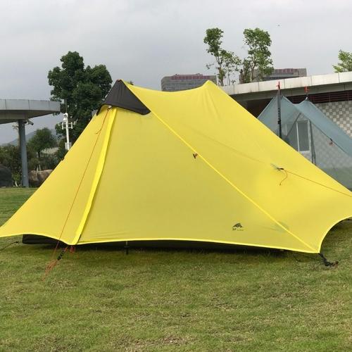 LanShan 2 3F UL GEAR 2 Person 1 Person Outdoor Ultralight Camping Tent 3 Season 4 3