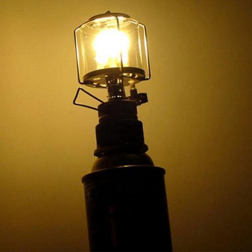 Mini 80LUX Outdoor Camping Lantern Portable Aluminum Gas Light Tent Lamp Torch Hanging Glass Lamp Chimney 2.jpg 640x640 2