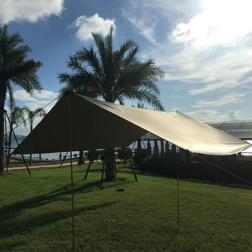Pergolas Awning Sun Shelter Beach Outdoor Camping Garden Sun Awning Canopy Sunshade Hammock Rain Fly Tarp 2