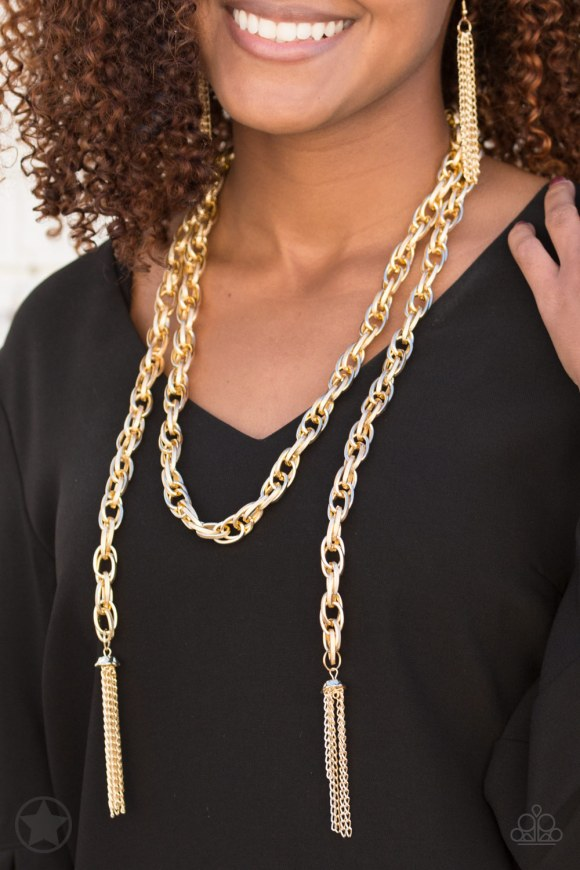 gold scarf necklace versatile jewelry 5 dollars