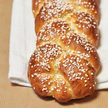Braided Cardamom Bread