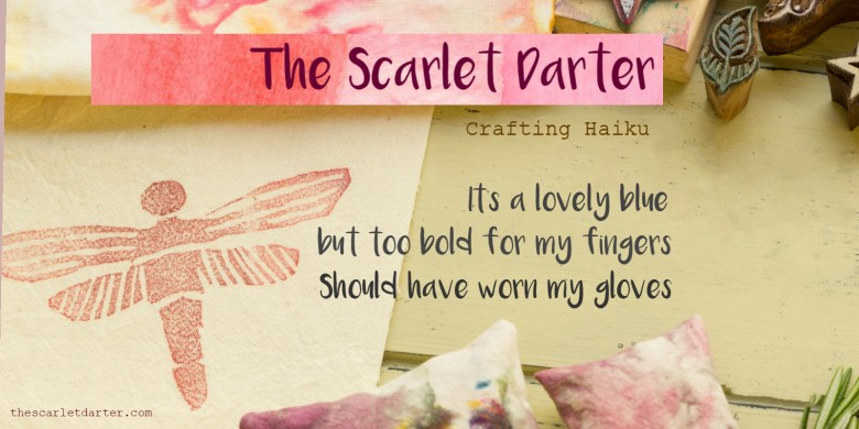 Haiku for the clumsy crafter by thescarletdarter.com