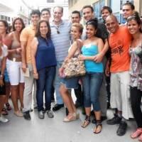 UN HÉROE CUBANO PASEA POR CALLES HABANERAS