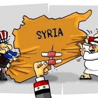 El Imperio y los perritos que mejor le sirven no quieren amigos de Damasco junto al Ejército sirio